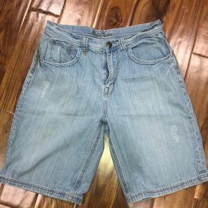 Men's guess jean shorts